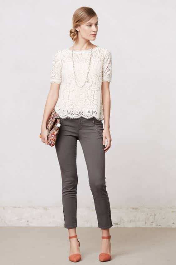 Lacy Tops for Perfect Girls-Day-Out