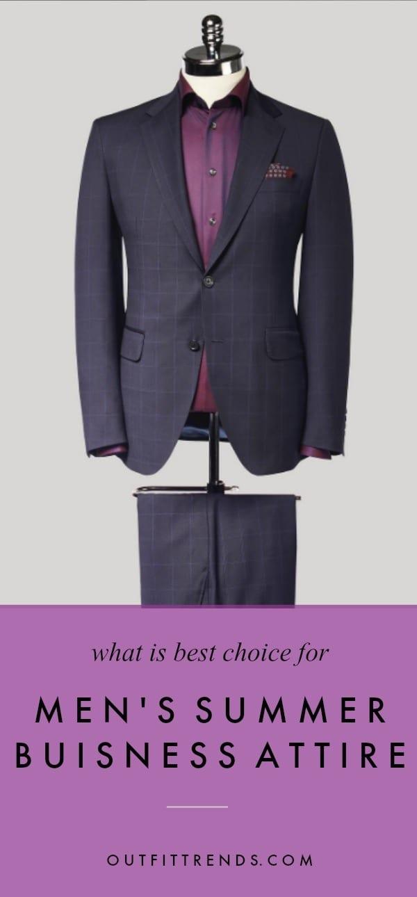 2bfc712ed5 27 Best Summer Business Attire Ideas for Men 2019