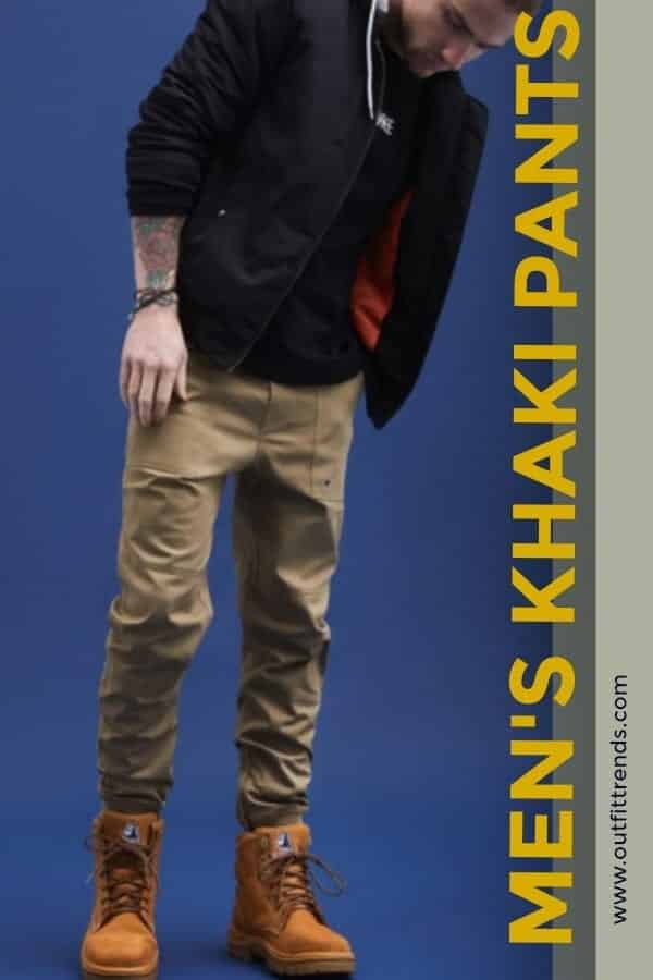 8bd7f668 Khaki Pants Outfits-20 Ideas What to Wear with Men's Khaki Pants
