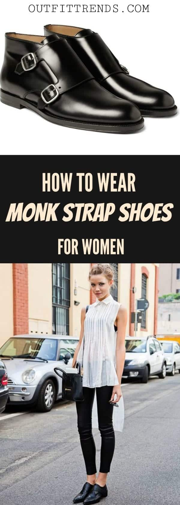 Girls Outfits with Monk Straps-30 Ways to Wear Monk Strap Shoes