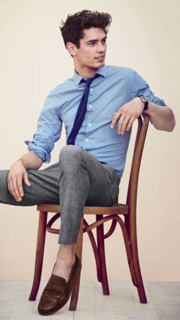 how to style business attire in summer for men (15)