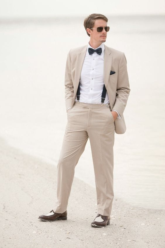 How to Wear Khakis as a Best Man