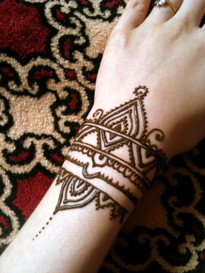 Henna Arm Tattoo: Trending Mehndi Designs-50 Latest Henna Tattoo Ideas For 2018