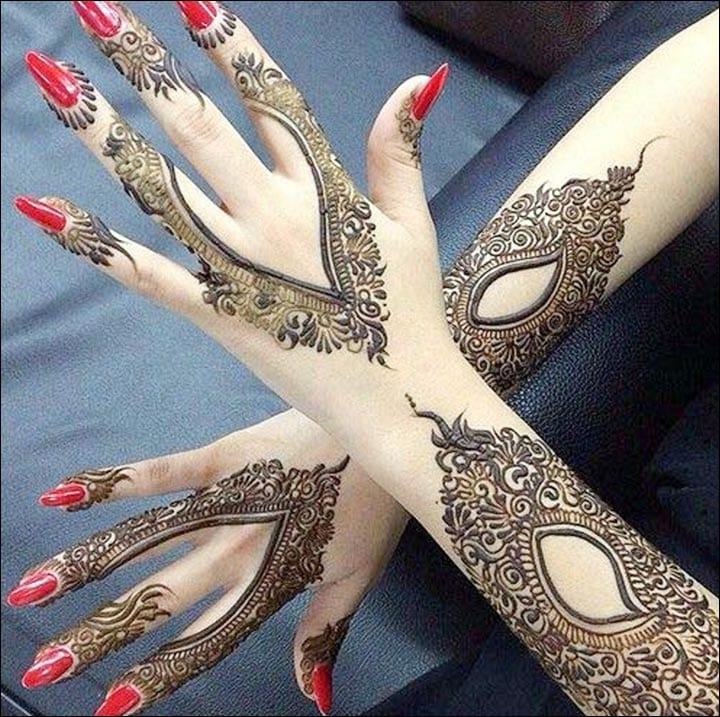 latest henna tattoo ideas (29)