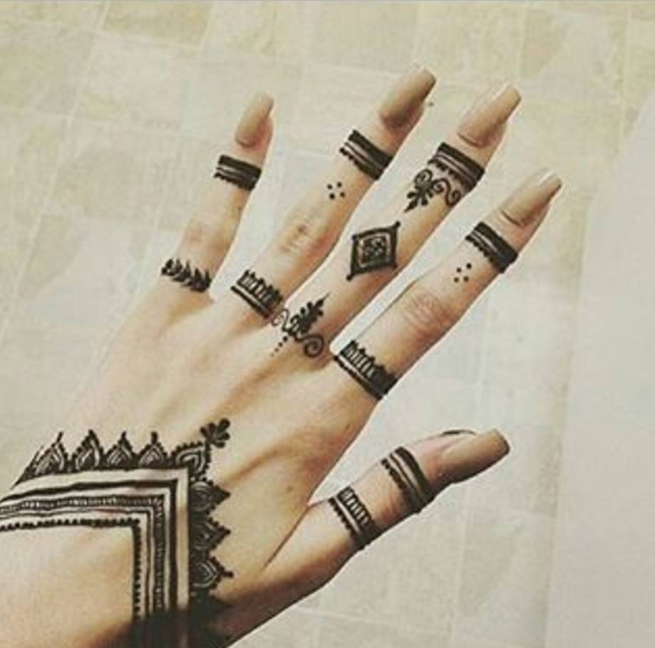25 Magnificent Henna Cuff Designs For Inspiration: Trending Mehndi Designs-50 Latest Henna Tattoo Ideas For 2018