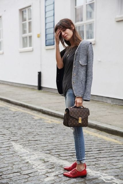 How to wear monk strap shoes for women (26)