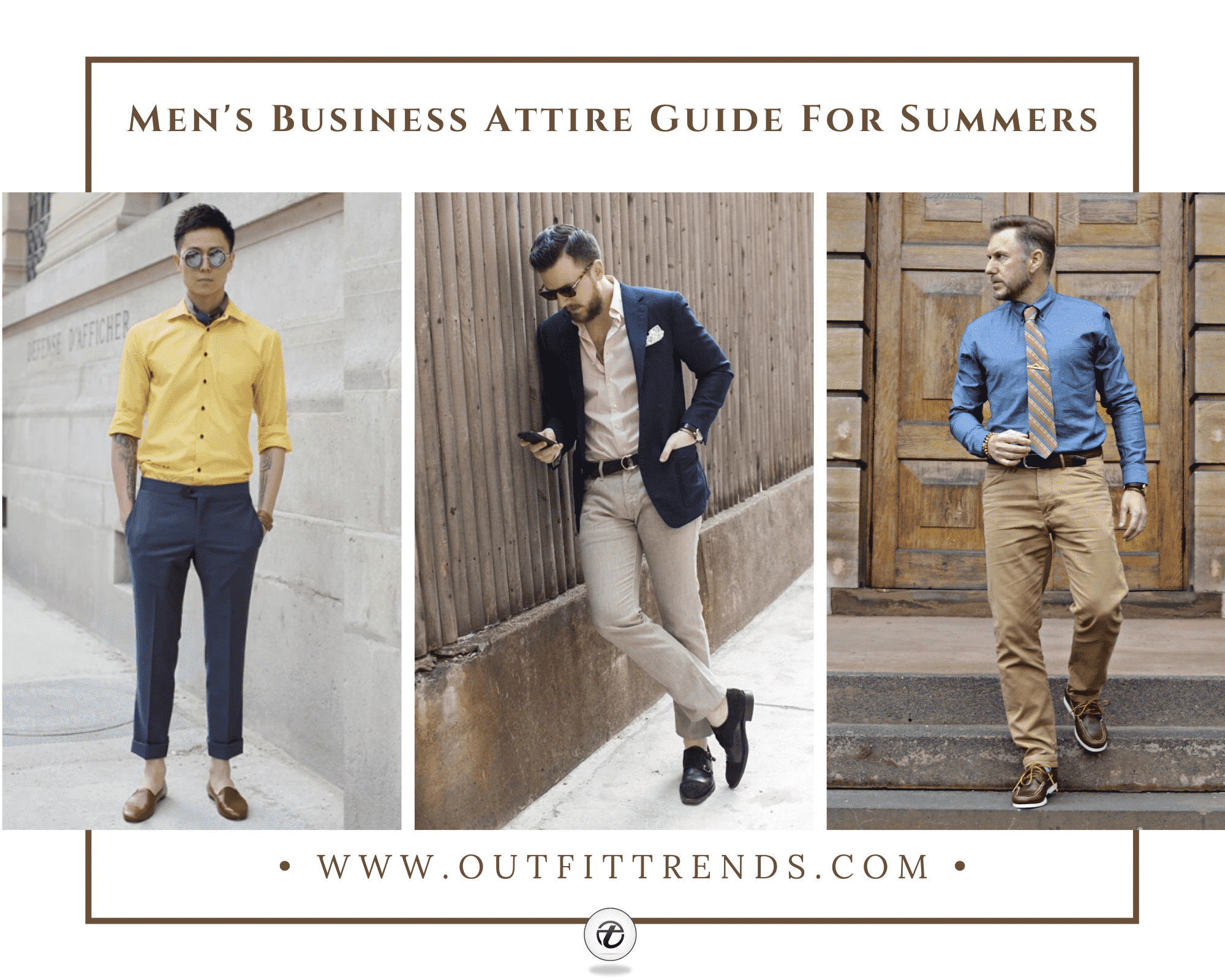 30 Best Summer Business Attire Ideas for Men To Try In 2021