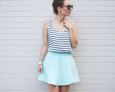 how to wear mint colored skirts (20)