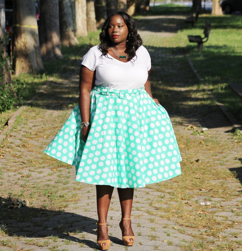 how to wear mint colored skirts (8)