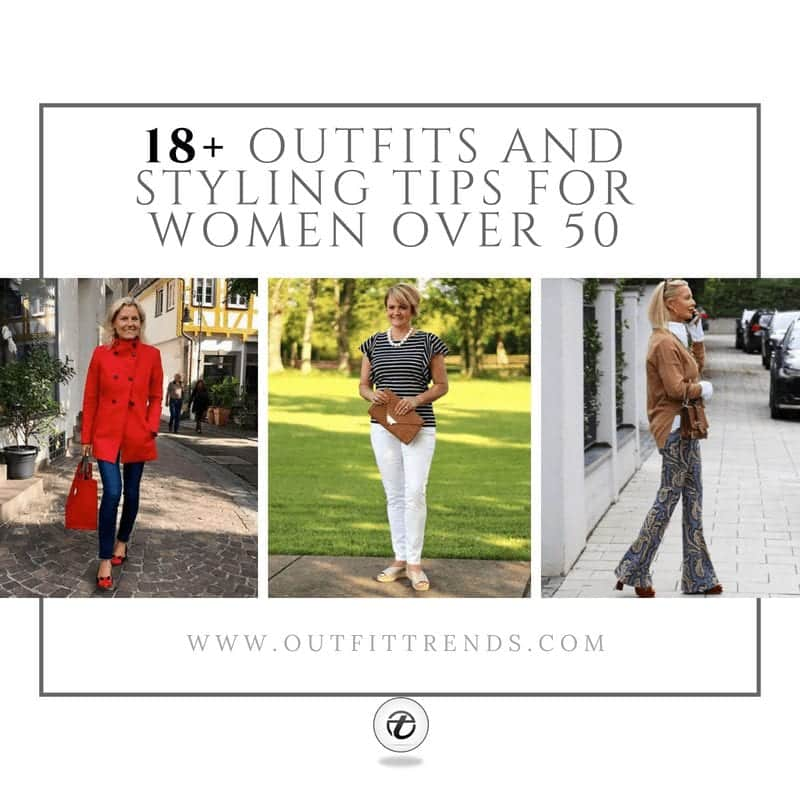 outfit ideas for women above fifty