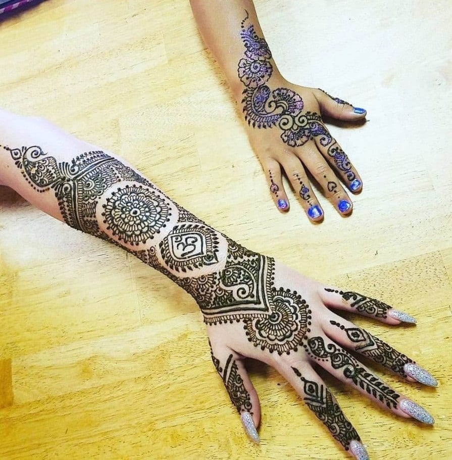 latest henna tattoo ideas (4)