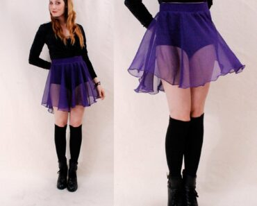 how to wear a sheer skirt (1)