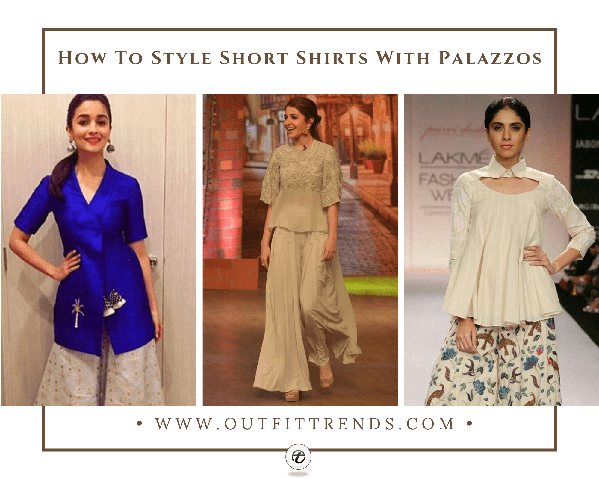 25 Different Ways To Wear Short Shirts With Palazzo Pants