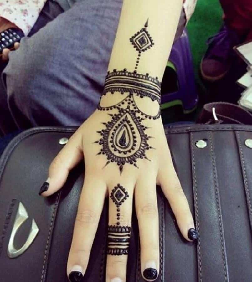 Little Henna Tattoos: Trending Mehndi Designs-50 Latest Henna Tattoo Ideas For 2019