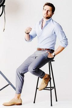 how to style business attire in summer for men (2)
