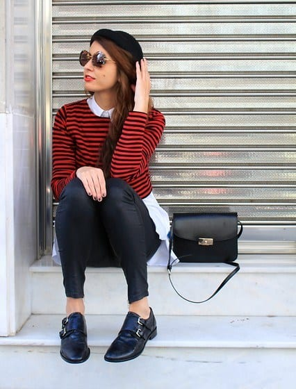 How to wear monk strap shoes for women (11)