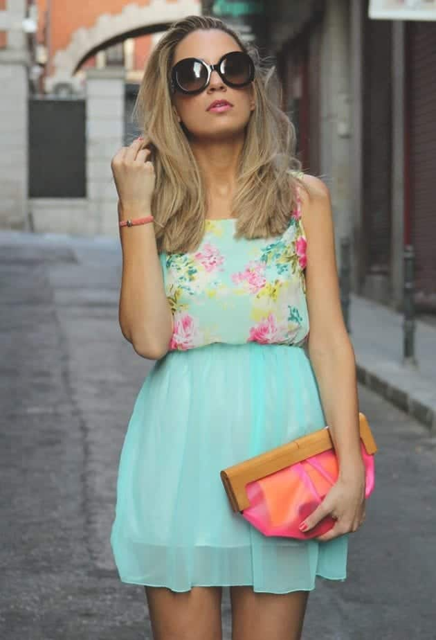 how to wear mint colored skirts (3)