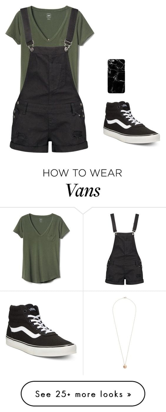 f9f150ab73 Women s Outfits with Vans-30 Outfits to Wear with Vans Shoes