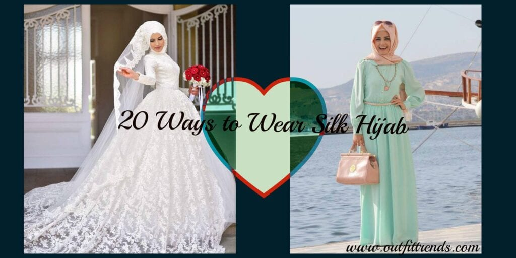 20 Ways to Wear Silk Hijab