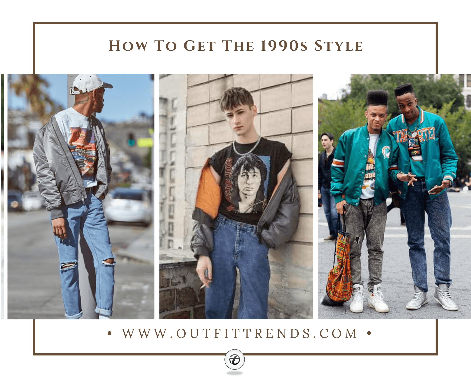 90s Fashion for Men – 36 Best 1990's Themed Outfits for Guys