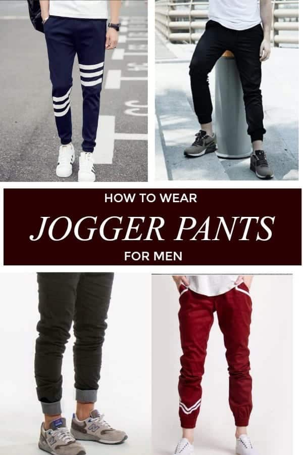 72be43f8a5 Men s Outfit with Jogger Pants- 30 Ways to Wear Jogger Pants
