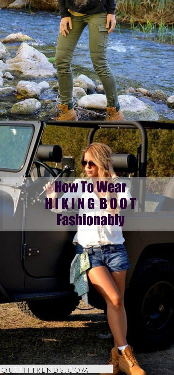 2921e69868b Girls Outfits with Hiking Boots-26 Ways to Wear Hiking Boots