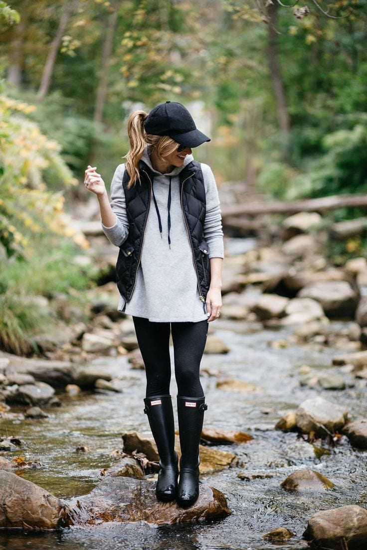 Girls Outfits with Hiking Boots-26 Ways to Wear Hiking Boots