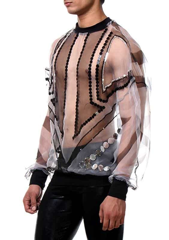 Lace Outfits for Men (16)