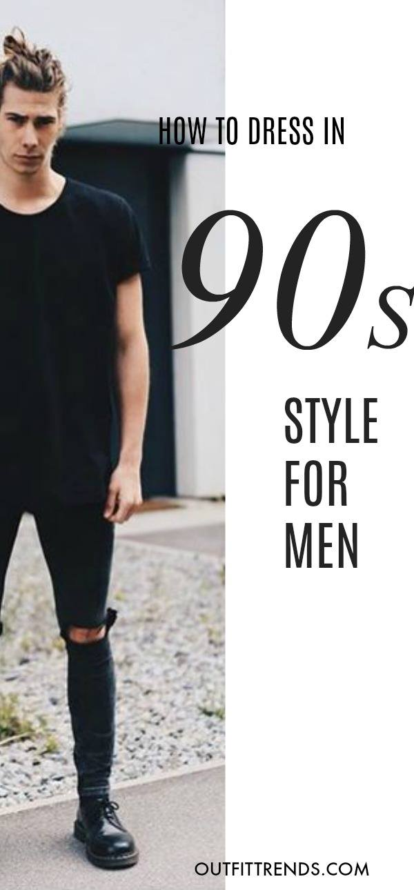 993236d000b03 90s Fashion for Men - 30 Best 1990 s Themed Outfits for Guys