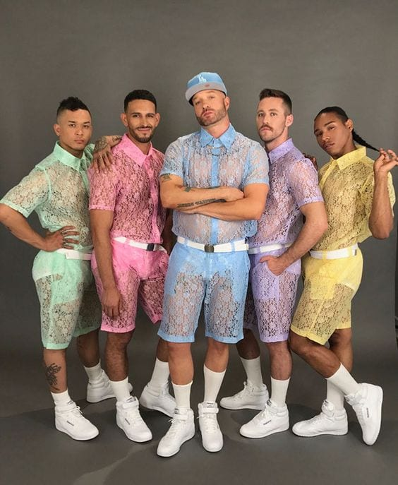Lace Outfits for Men (9)