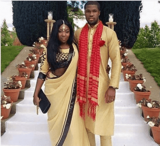 f5546911ca9 The matching outfit is ideal for any traditional event for black couples.  Here are 17 Most Swag Outfit Ideas for Black Girls.