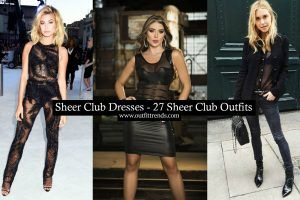 How to wear a sheer club outfit (1)