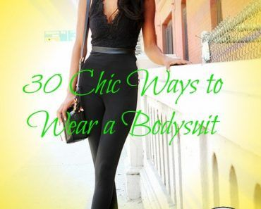 30 chic ways to wear bodysuit