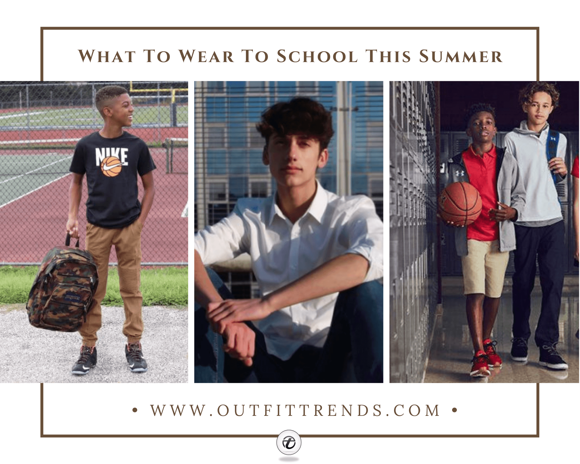 Summer School Outfits | 45 School Outfit Ideas for Boys