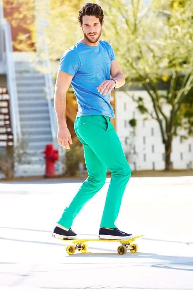 how to wear a mint pant (28)