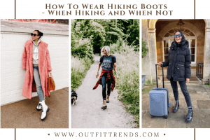 how to wear hiking boots