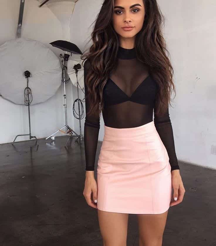 How to wear a sheer club outfit (22)