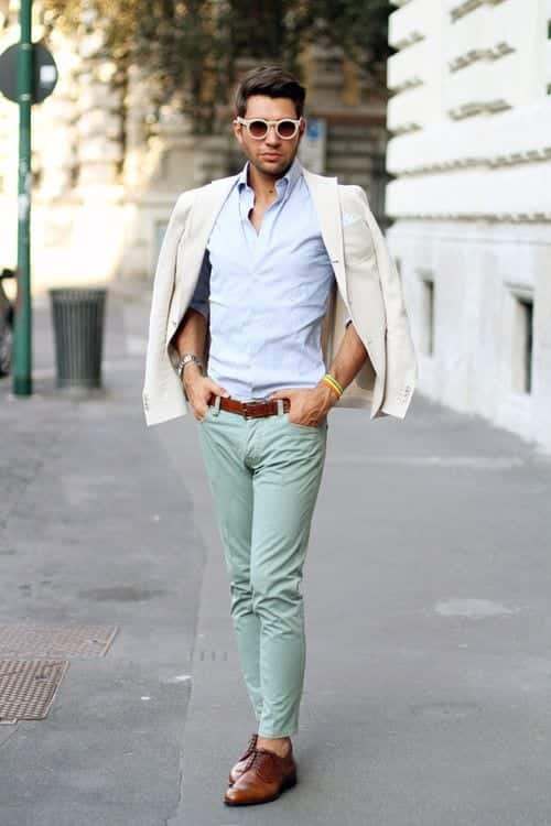 Mint Pant Outfits For Men 30 Ideas How To Wear Mint Pants