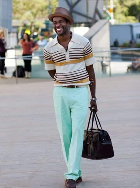 how to wear a mint pant (18)