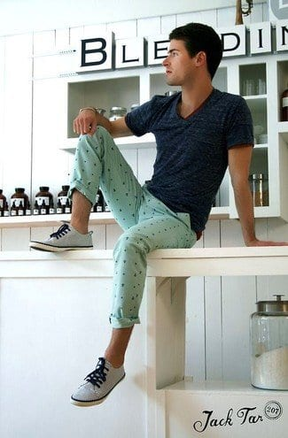 how to wear a mint pant (11)
