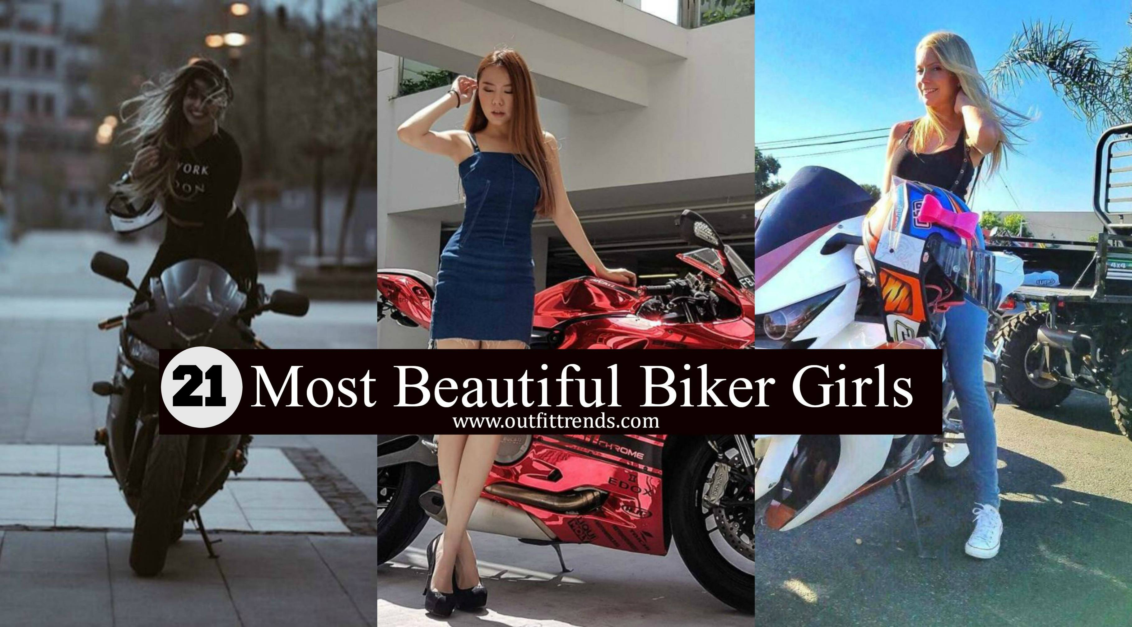 gorgeous biker girls