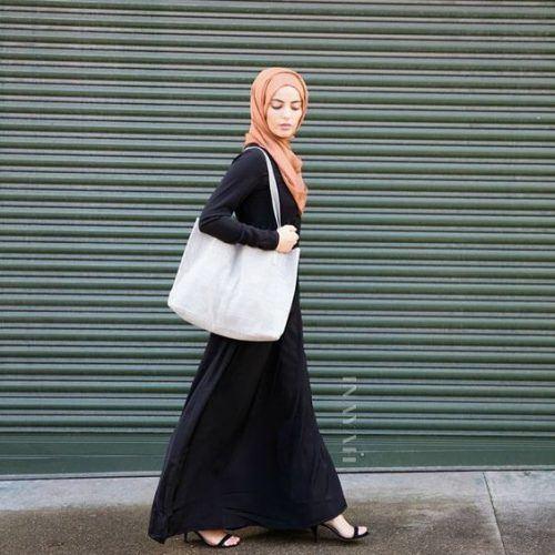 how to wear silk hijab