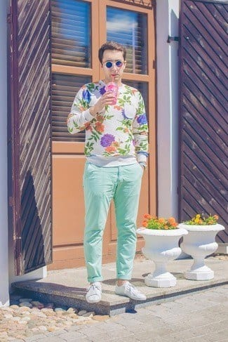 how to wear a mint pant (7)