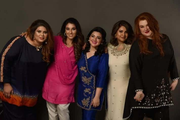 Curvy Pakistani Girls Fashion