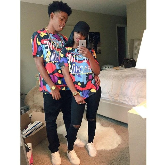 94e006766 30 Cutest Matching Outfits for Black Couples