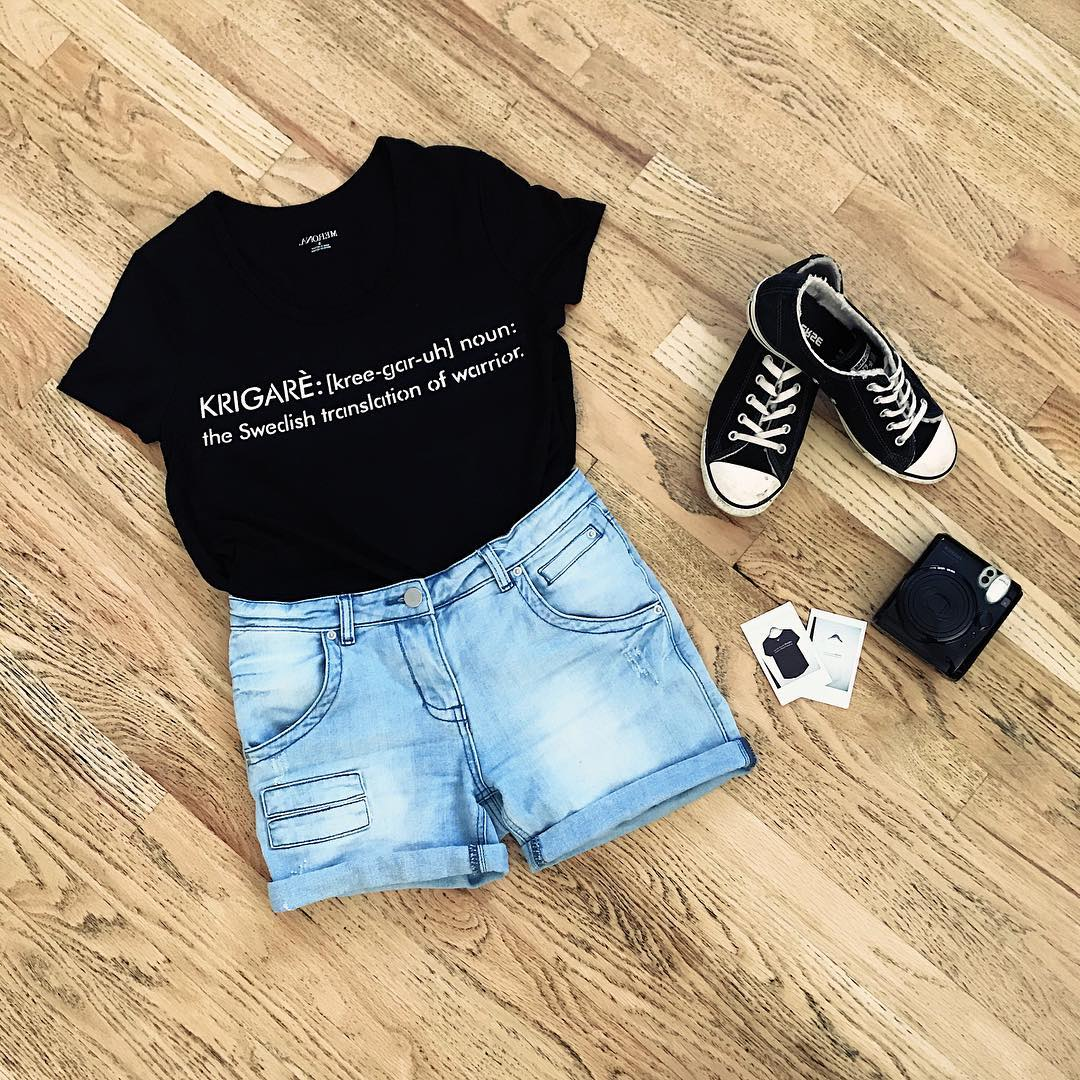 Girls Black Shirt Outfits 30 Different Ways To Wear Black