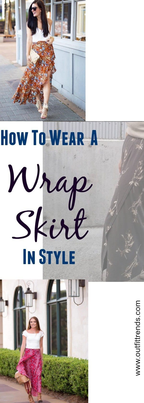 photo Stylish Wrap Skirt Outfits-28 Ideas on How to Wear Wrap Skirts