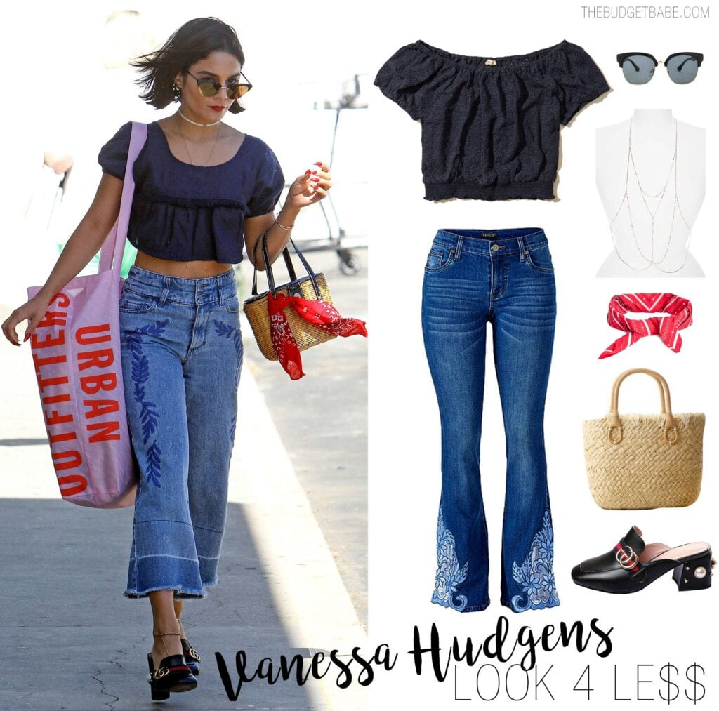 Embroidered Jeans for Girls (7)