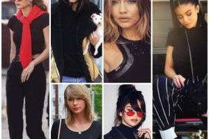 women black shirt outfits