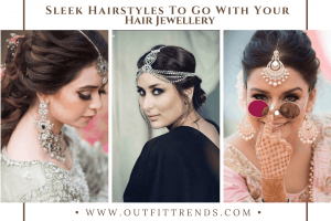 hairstyles with maang tikka